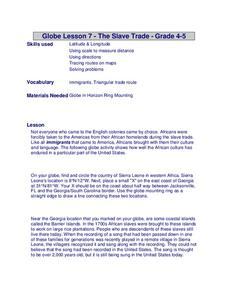 The Slave Trade Lesson Plan
