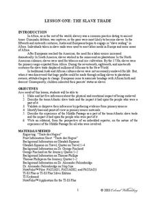 north atlantic slave trade lesson plans worksheets. Black Bedroom Furniture Sets. Home Design Ideas