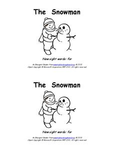 The Snowman Worksheet