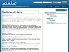 The Statue of Liberty Lesson Plan