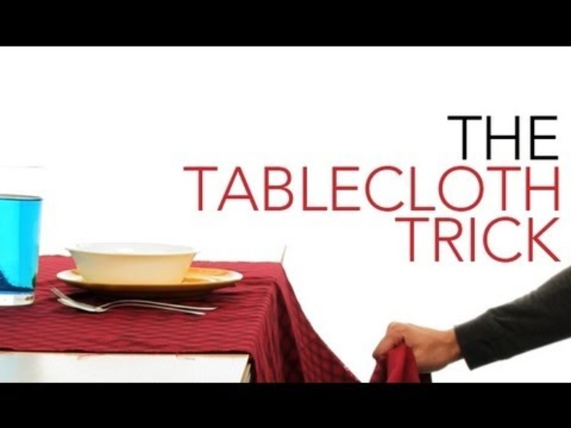 The Tablecloth Trick Video
