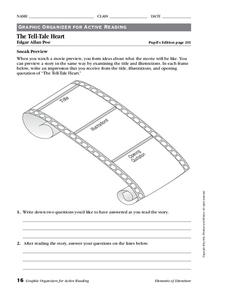the tell tale heart worksheet for 7th 12th grade lesson planet. Black Bedroom Furniture Sets. Home Design Ideas