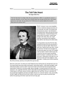 The Tell-Tale Heart Worksheet