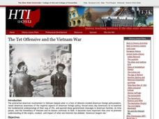 The Tet Offensive and the Vietnam War Lesson Plan