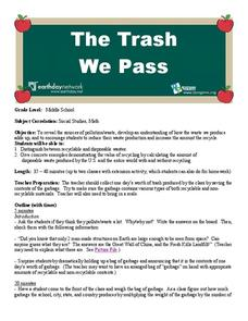 The Trash We Pass Lesson Plan
