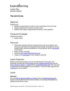 The Unit Circle Lesson Plan