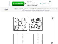 The Very Hungry Caterpillar--Days of the Week Worksheet