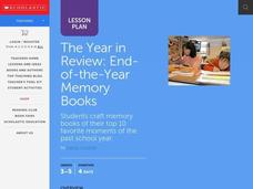The Year in Review Lesson Plan
