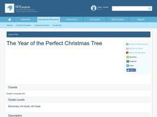 the year of the perfect christmas tree lesson plan - The Year Of The Perfect Christmas Tree