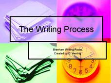 The Writing Process Presentation