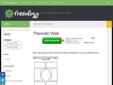 Thematic Web Worksheet
