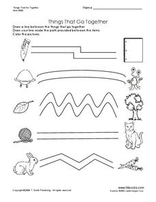 Things That Go Together Worksheet