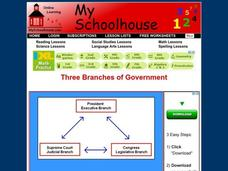 Three Branches of Government Interactive