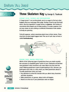 Three Skeleton Key Lesson Plan