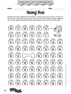 Missing Bone Worksheet