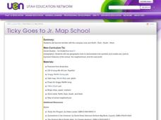 Ticky Goes to Jr. Map School Lesson Plan