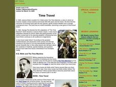 Time Travel Lesson Plan