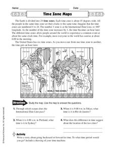 math and time zones and time lines 4-5 | math worksheets ...
