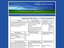 Time Zones Lesson Plan
