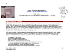 Titration and Molarity Lesson Plan