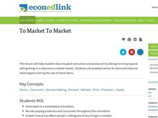 To Market To Market Lesson Plan