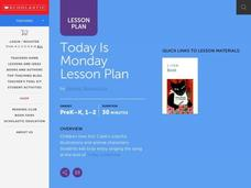 Today is Monday Lesson Plan Lesson Plan