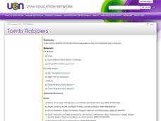 Tomb Robbers Lesson Plan
