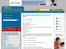 Tongue Twisters Lesson Plan