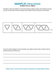 Toothpick Patterns Worksheet
