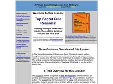 Top Secret Rule Reasons! Lesson Plan