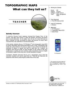 Topographic Maps Lesson Plan
