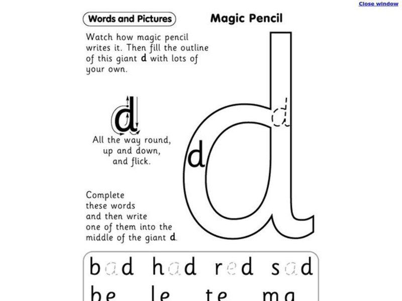 trace the letter d worksheet trace the letter d worksheet