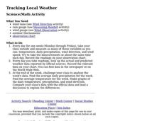 Tracking Local Weather Activities & Project