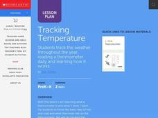 Tracking Temperature Lesson Plan