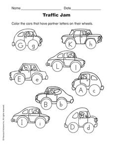 Traffic Jam Worksheet