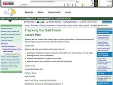 Tracking the Salt Front Lesson Plan