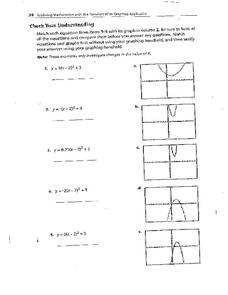 Transformations Worksheet