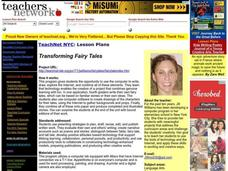 Transforming Fairy Tales Lesson Plan