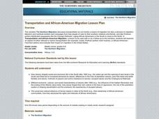 Transportation and African-American Migration Lesson Plan