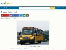 Transportation Unit Lesson Plan