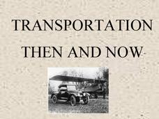 Transportation Then and Now Presentation