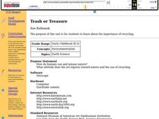 Trash or Treasure Lesson Plan