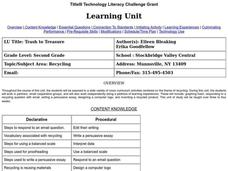Trash to Treasure Lesson Plan