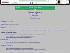 Travel Agency Lesson Plan