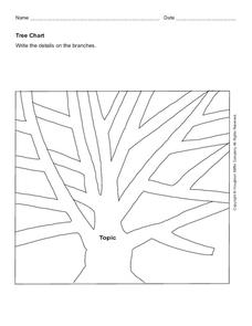 Tree Chart Worksheet