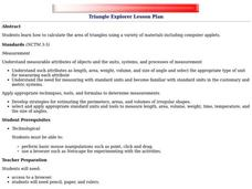 Triangle Explorer Lesson Plan