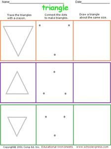 Triangle Worksheet Worksheet