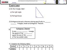 Triangles Lesson Plan