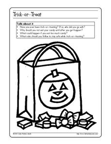 Trick-or-Treat Worksheet