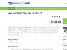 Are the Best Things in Life Free? Lesson Plan